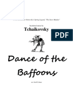 Dance of the Baffoons (Brass Band)