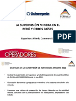 Supervision Mineria