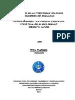 Tugas Tata Ruang Wan Mansur C252110071