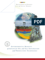 Environmental Benefits of Advanced Oil & Gas Exploration and Production Technology