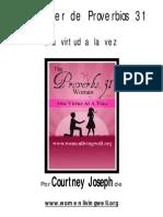 La Mujer de Proverbios 31 Una Virtud a La Vez