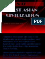 EAST ASEAN CIVILIZATION