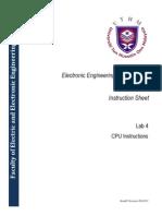 Lab 4 CPU Instructions
