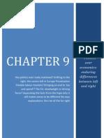 Chapter 9 Politics over Economics