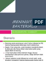 Meningitis Bakterialis Presentasi Olivia