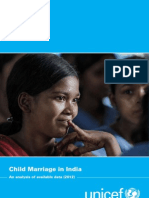 UNICEF Child Marriage Report - India - 2012
