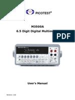 M3500A User's Manual V1.06