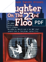 Laughter on the 23rd Floor Playbill