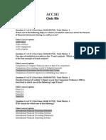 ACC311 Quiz File