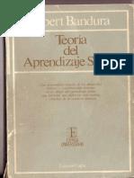 Albert Bandura - Teoría del aprendizaje social. Parte 1