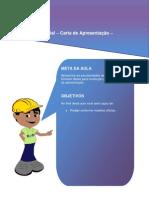 Aula 04 - Redação Oficial - Carta de Apresentação - Currículo