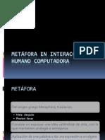 METÁFORA EN INTERACCIÓN HUMANO COMP