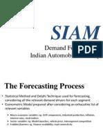 SIAM Forecasts