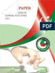 White Paper on Massive Rigging In Election 2013