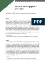 Pereira. Estudos Culturais de Música Popular, uma breve genealogia