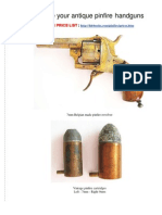 Revive Your Antique Pinfire Handguns
