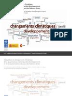 Intégration du changement climatique  dans les processus nationaux de développement et de programmation de pays des Nations Unies Un manuel pour aider les Équipes de pays des Nations Unies à intégrer les risques  et opportunités liés au changement climatique