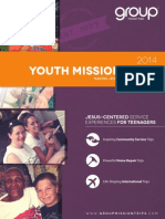 2014 Group mission Trips Catalog