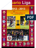 Anuario Liga 2012-13