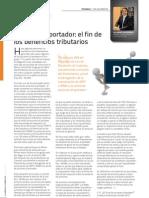 Acciones Al Portador - El Fin de Los Beneficios Tributarios