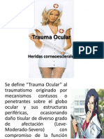 Trauma Ocular