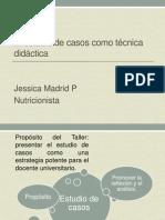 El estudio de casos como técnica didáctica