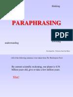 Paraphrasing Pracatice2