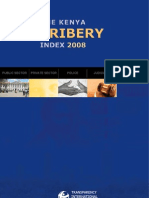 Kenya Bribery Index 08