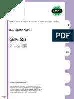 GMP+D2.1 v.2010 Guia HACCP - ESPAÑOL