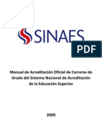 Manual Oficial de Acreditacion