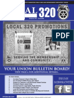 Teamsters Local 320 Summer/ Fall Newsletter 2013