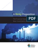 A Risky Proposition Report