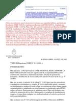 Resolucion 311-2011- AGUIA de CONT MINIMOS SEGURIDAD PUBLICA-Ente Nacional Regulador de La Electricidad