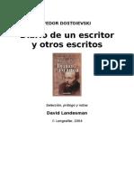 Dostoievski Fedor - Diario de Un Escritor
