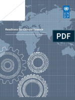 Readiness for Climate Finance