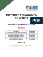 EVALUACIÓN U2  CONTROL DE MAQUINAS ELÉCTRICAS