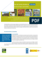 Transversalización del cambio climático en Colombia