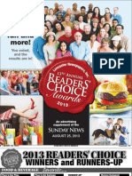 Readers Choice 2013