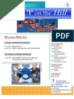 Body of Newsletter July 2013