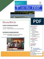 Body of Newsletter August 2013