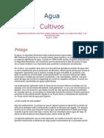 Agua y Cultivos FAO