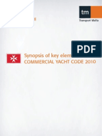 Commercial Yacht Code Synopsis