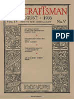The Craftsman - 1903 - 08 - August