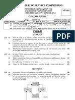 Computer Science board paper