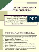 CLASE DE TOPOGRAFÍA TORACOPLEURAL IV