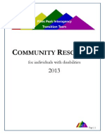 PPITT 2013 Community Resources Directory