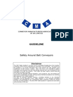 CMA Guideline - Safety Around Belt Conveyors Rev 01 Mar-2010