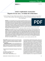 Papilomatosis Respiratoria Recurrente
