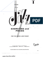 Jazz Exercises & pieces