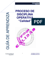 Guia Disciplina Operativa III Calidad